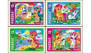Пазл 12 Любимые пони