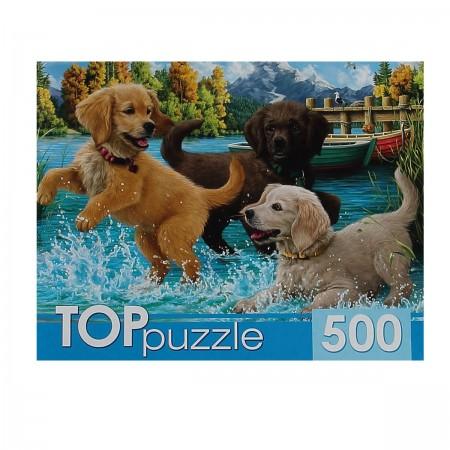 Пазл 500 Toppuzzle Игривые щенки