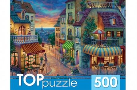 Пазл 500 Toppuzzle Парижская улица