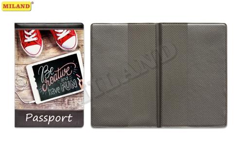 Обложка для паспорта Miland ПВХ Креатив