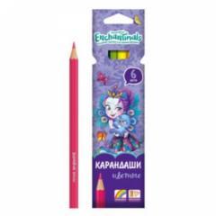 Карандаши цветные 6 цв Limpopo Mattel Enchantimals