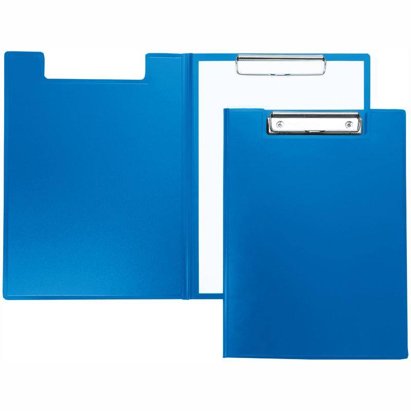 Папка-планшет А3 одинарный синий PVC