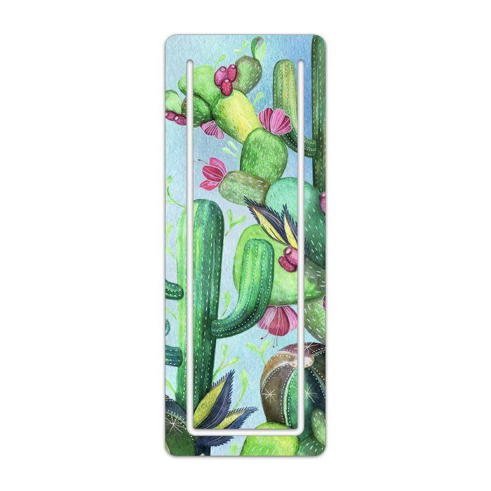 Закладка Цветущий кактус