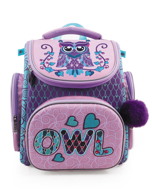 Ранец Hatber Compact Plus Owl + мешок