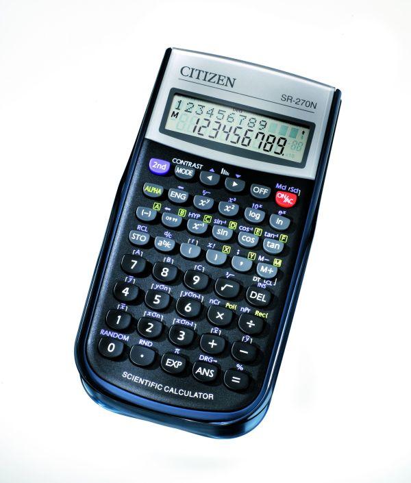 Калькулятор научный 10 разр. CITIZEN 236 функций