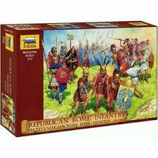 Военно-исторические миниатюры Республиканский Рим Пехота