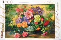 Пазл 1500 Step Цветы в вазе