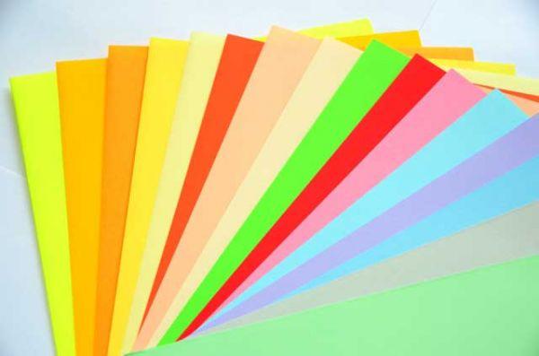 Бумага А4 1шт цветная