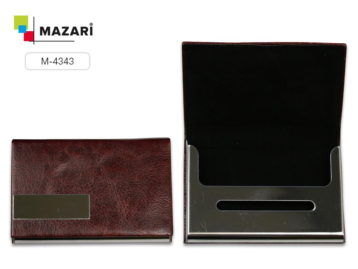 Визитница Mazari Cross на магните ассорти 2 цвета