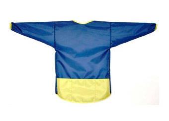 Фартук для труда Кимоно 1050x590 синий
