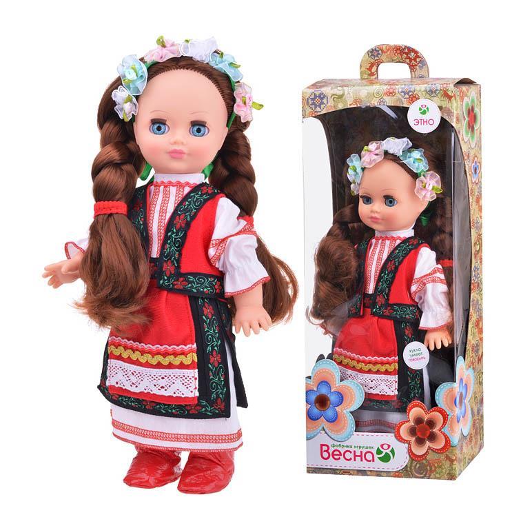 Кукла Элла в украиском костюме зв.