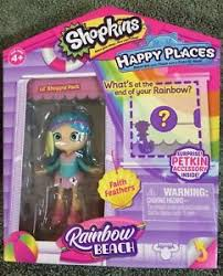 Кукла Shoppie Пёрышко Физ с аксес.