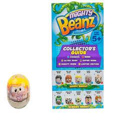 набор Moose 1 боб Mighty Beanz в фольгированном пакетике
