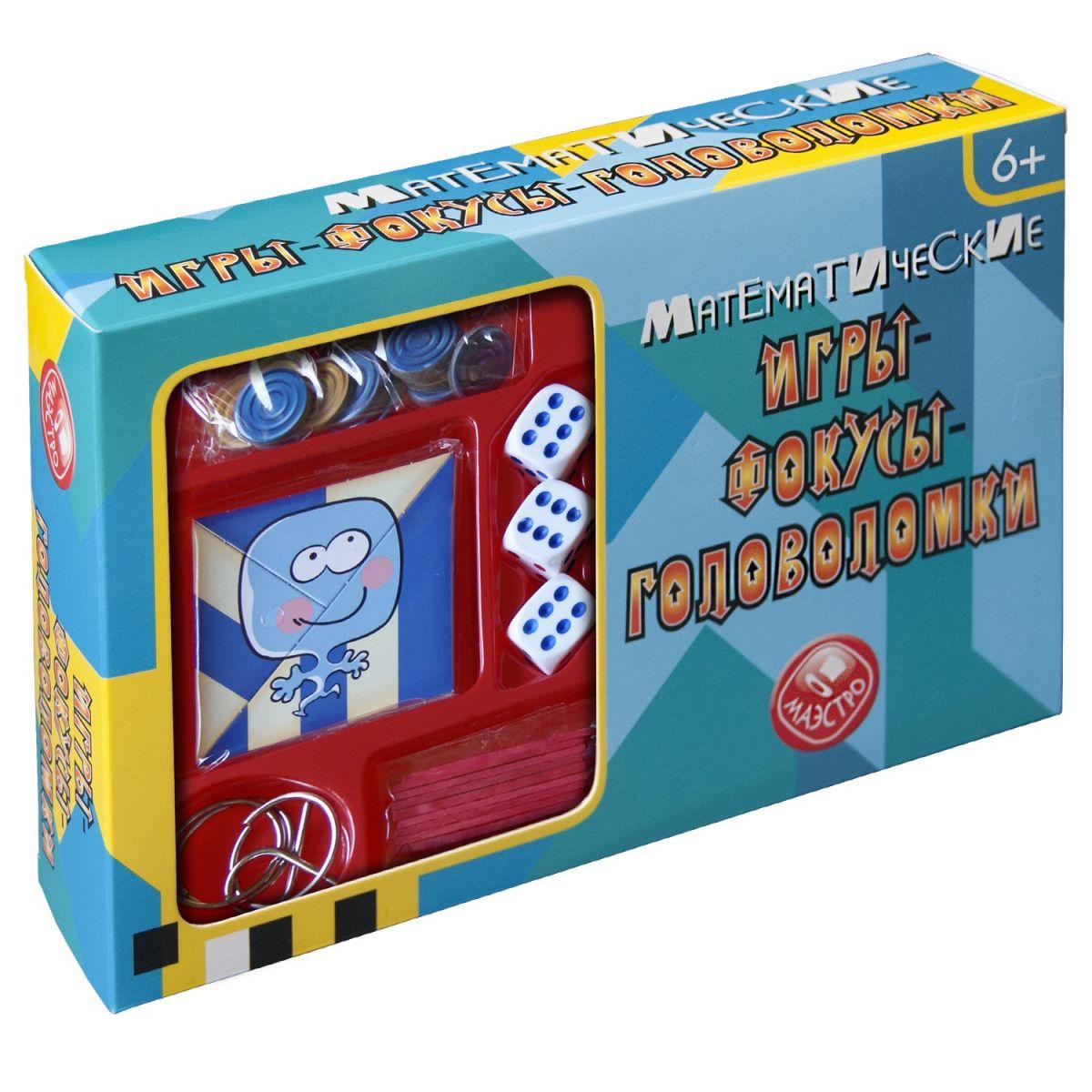 Игра Набор Математические игры-фокусы-головоломки