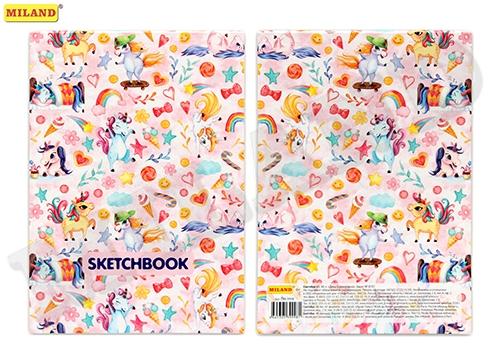 SketchBook А5 48л День Единорожка