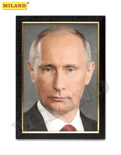 Портрет Путин В. В. А4 в рамке под стеклом