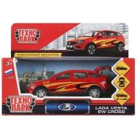 Машина LADA VESTA sw cross спорт металл 12см, инерц.