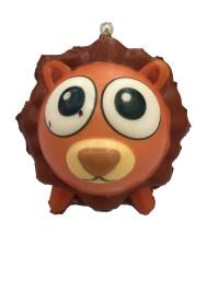 Антистресс Мммняшка squishy (сквиши) шарики-звери Лев