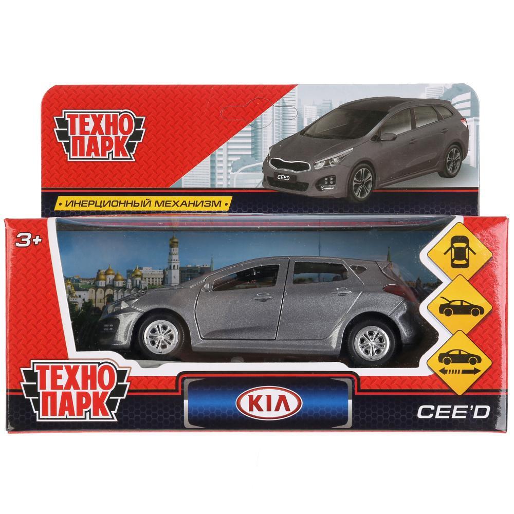 Машина Kia Ceed металл 12см открыв. двери, инерц., серый