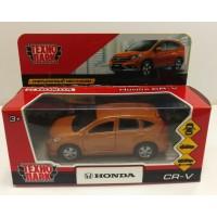 Машина Honda CR-V металл 12см, открыв. двери, инерц, золотой