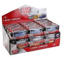 Машина Lada Largus 7,5см в ассорт.
