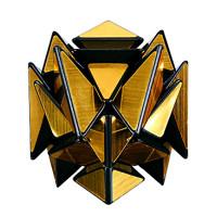 Игра Головоломка Кубик зеркальный Трансформер золото
