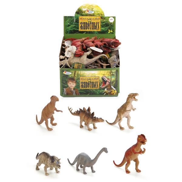 из ПВХ Динозавр в ассортим. 8 видов