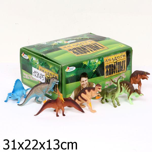 из ПВХ Динозавр 15-17,5см, в ассортим.