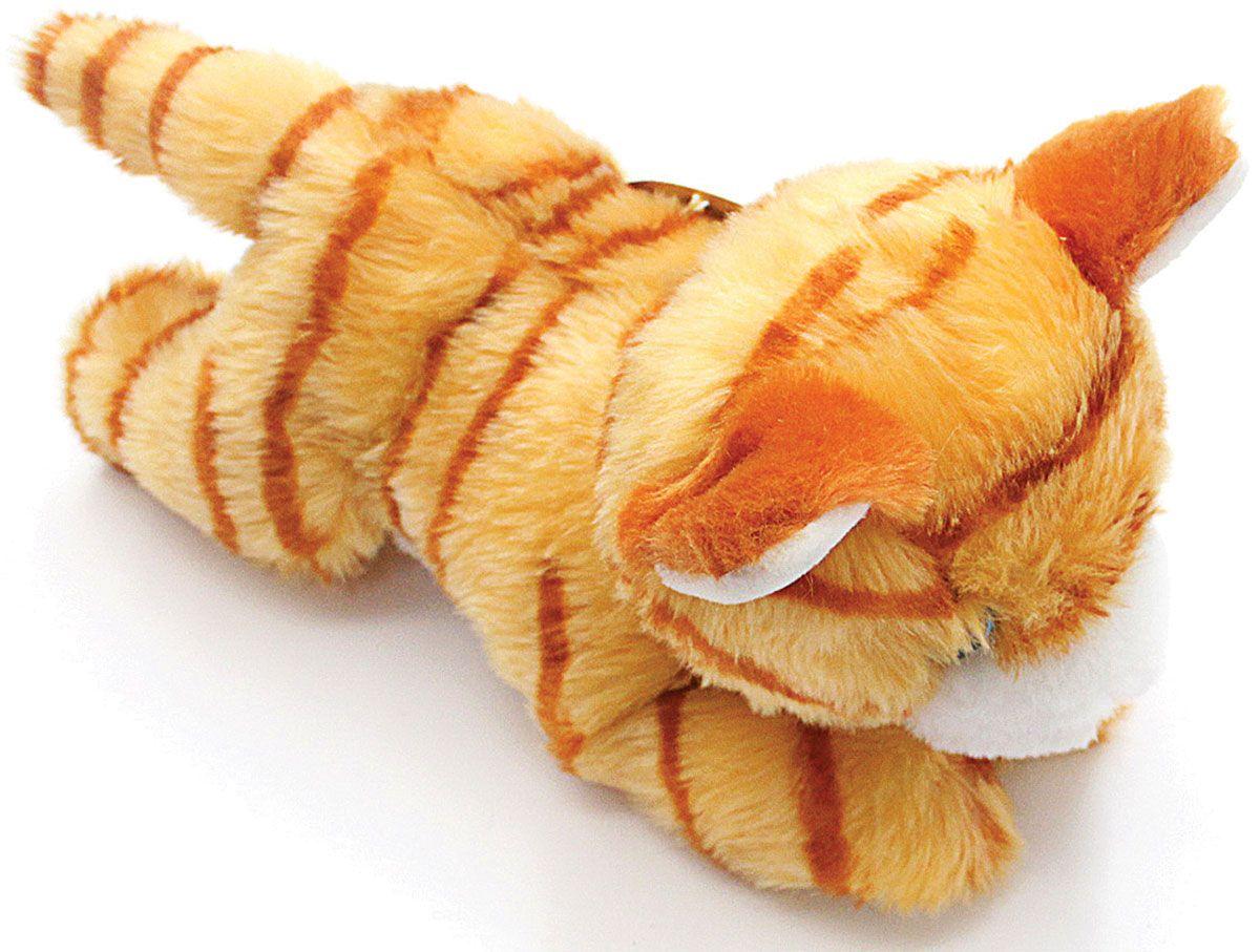 Мягконабивная Котенок рыжик 23см