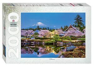 Пазл 2000 Step Япония весной. Сидзуока