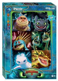Пазл 160 Step Как приручить дракона - 3 (DreamWorks)