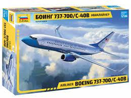 Сборная модель Боинг 737-700 1/144