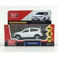 Машина Toyota Rav4 12см, открыв. двери, инерц., белый