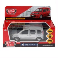 Машина Renault Kangoo 12см металл свет+звук, открыв. двери, инерц., сер