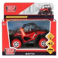 Машина Багги 11,5см металл свет-звук рессоры, инерц