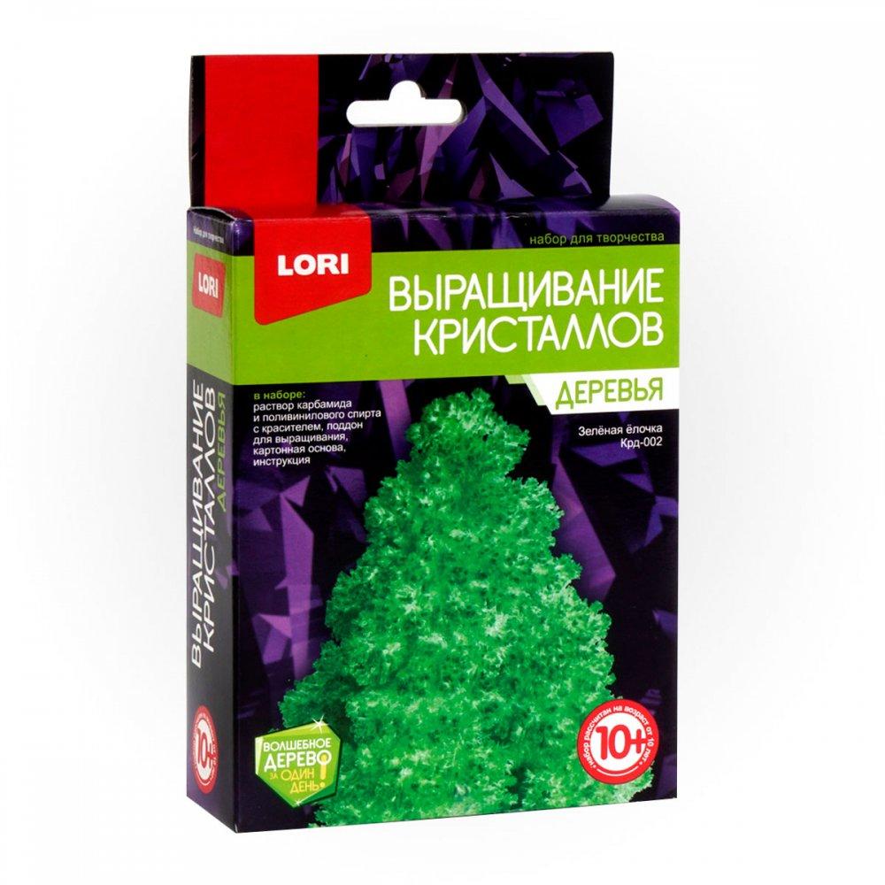 Набор для экспериментов Выращивание кристаллов Деревья Зеленая ёлочка