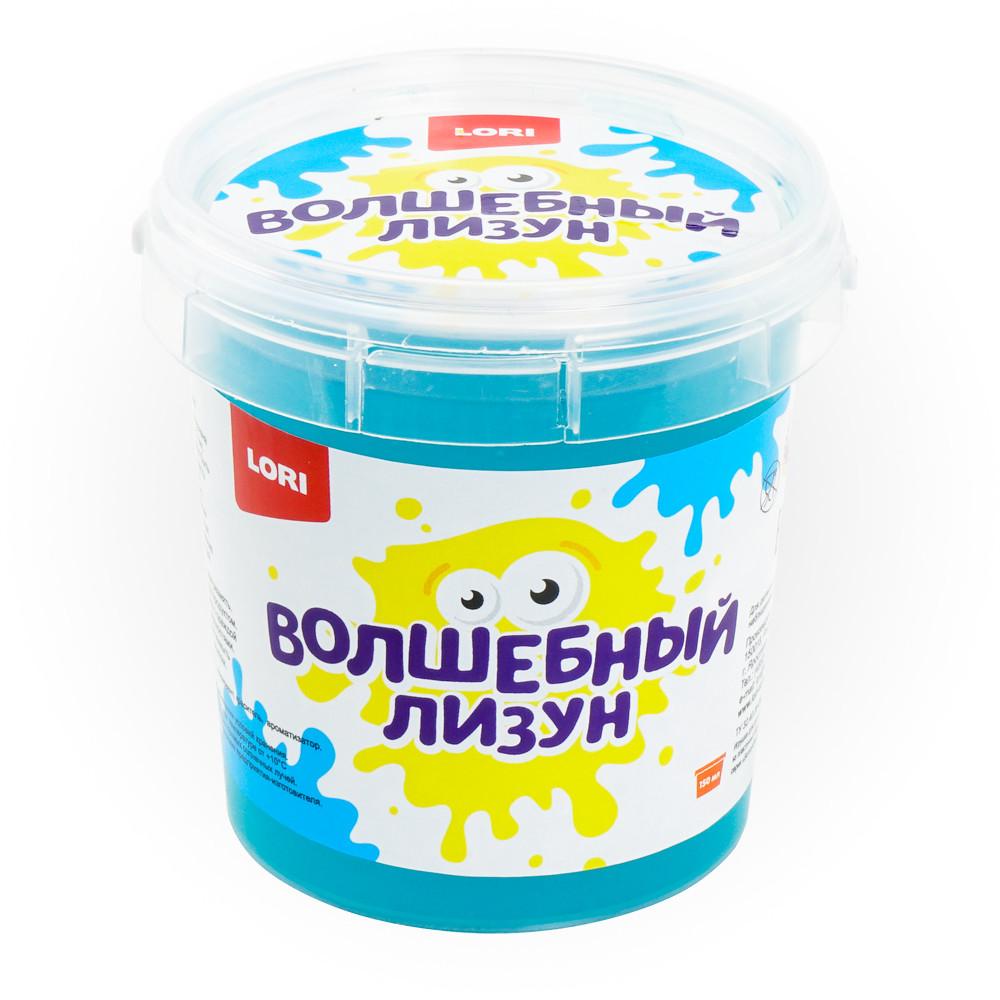 Волшебный лизун Голубой с ароматом тутти-фрутти 150мл.