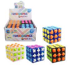 Игра Головоломка Куб с мастями 5,5см