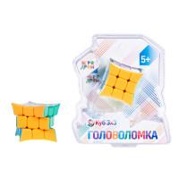 Игра Головоломка Куб 3х3 с загнутыми вершинами 5,5см пласт