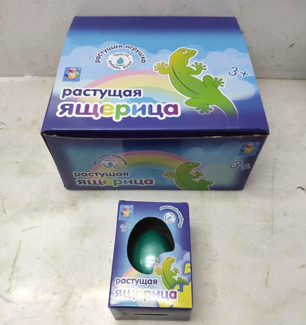 Набор Домашний инкубатор Яйцо с раст. ящерицей