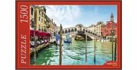 Пазл 1500 Венеция Гранд-канал и мост Риальто