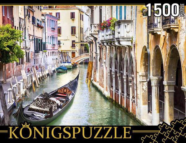 Пазл 1500 Konigspuzzle Венецианская гондола
