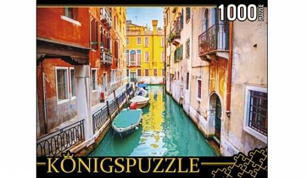 Пазл 1000 Konigspuzzle Венецианская улочка