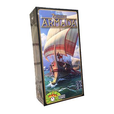Настольная 7 чудес: Армада (Wonder Armada)