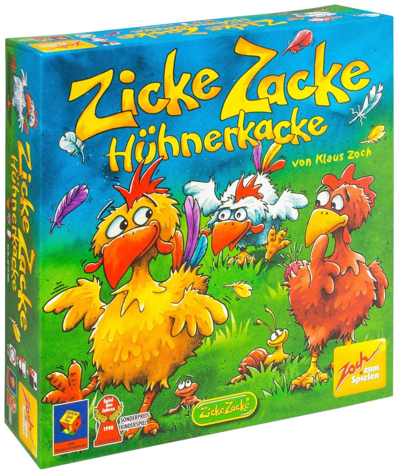 """Настольная Цыплячьи бега (""""Zicke Zacke Huhnerkacke"""")"""