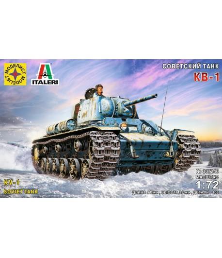 Сборная модель Советский танк КВ-1 (1:72)