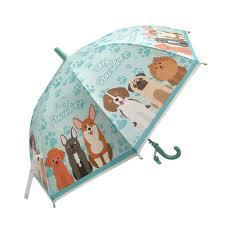 Зонт детский Щенки 48см свисток, полуавтомат