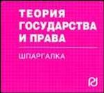 История отечественного государства и права: Шпаргалка