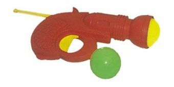 Пистолет с шарами мал