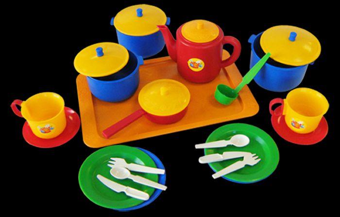 Набор посуды Хозяюшка большой пласт